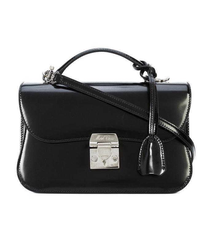 black dorothy small satchel bag
