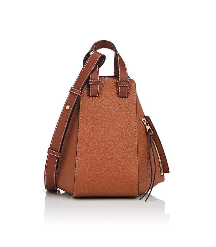 brown hammok small bag