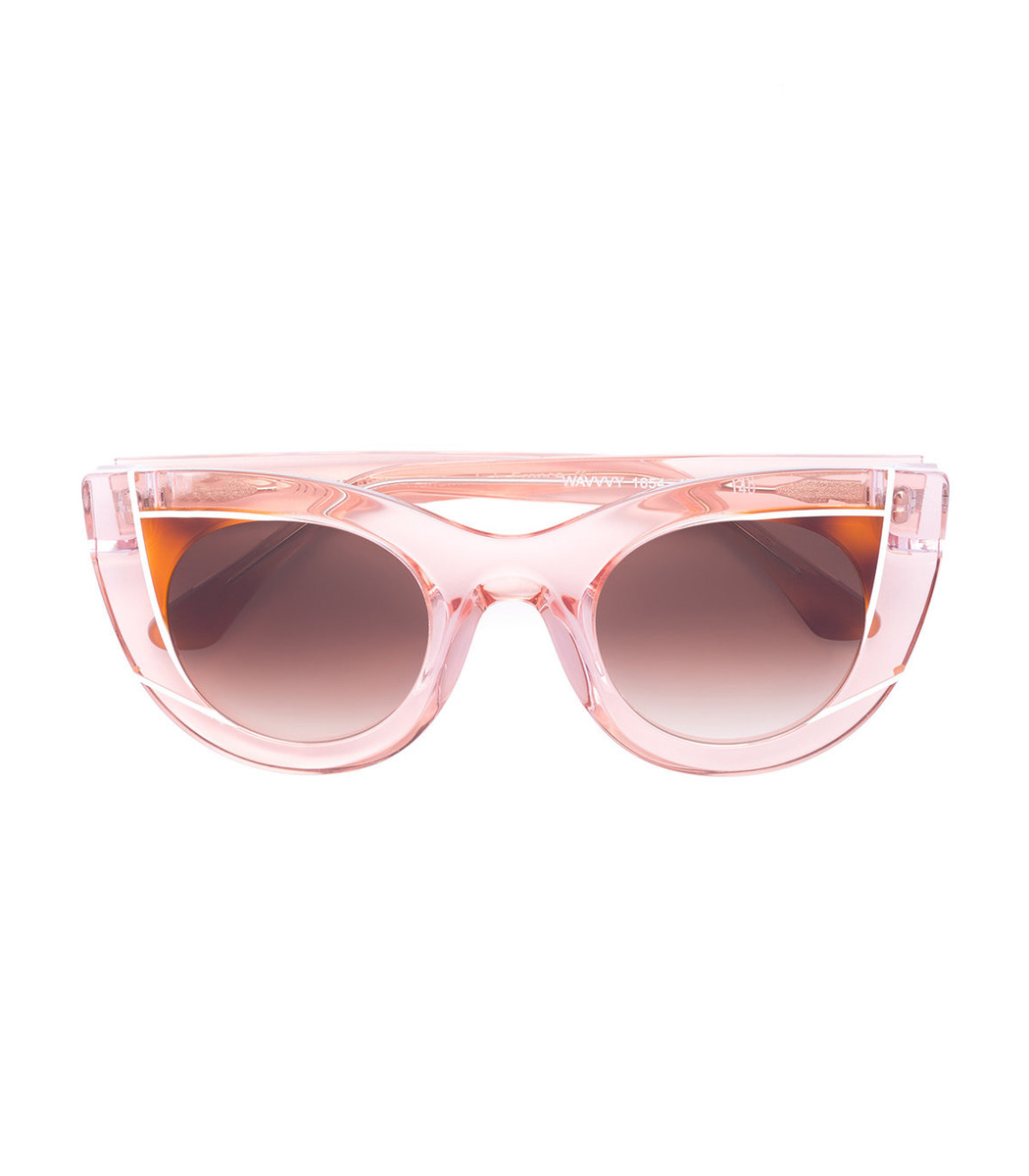 Thierry Lasry Peach Pink WAVVVY 1654 Sunglasses