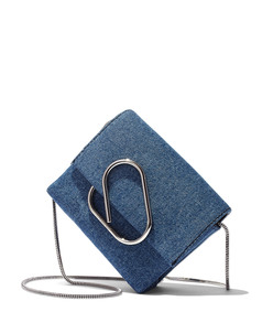 denim 'alix' crossbody bag