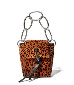 walnut leopard leigh crossbody bag