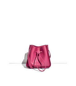bougainvillea 'soleil' mini bucket bag