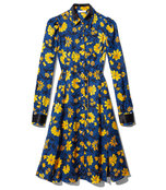 blue filippa dress