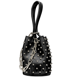 ShopBazaar Alexander Wang Black 'Roxy' Mini Bucket Bag MAIN