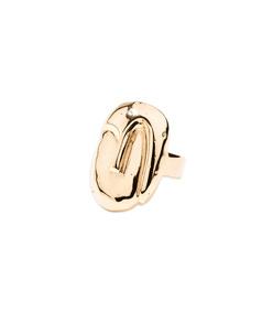 yellow gold 'melina' ring