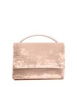pink velvet 'boyd vanity' bag
