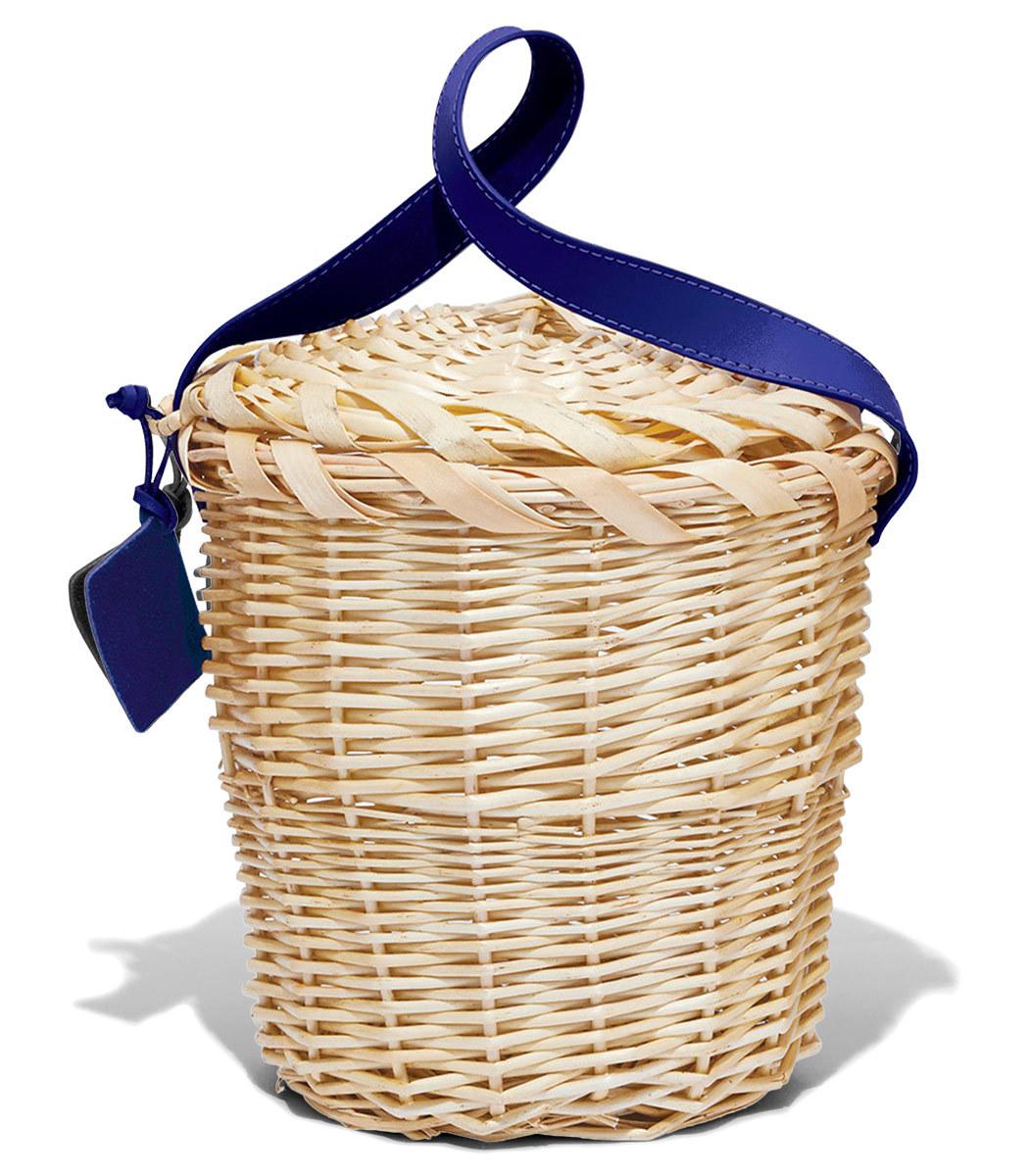 LINDROTH DESIGN Blue Small Birkin Basket