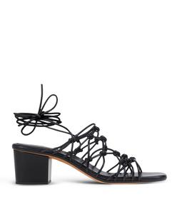 ShopBazaar Chloé Black Strappy Sandal  MAIN