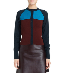 ShopBazaar Marni Colorblock Cardigan FRONT