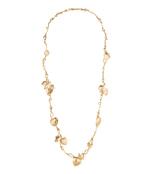 leaf theme necklace