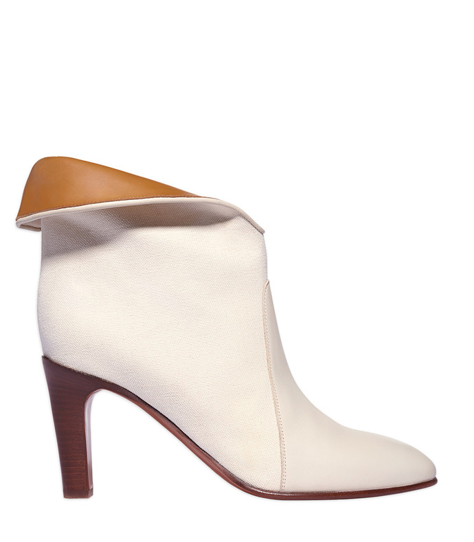 off white 'kole' canvas bootie