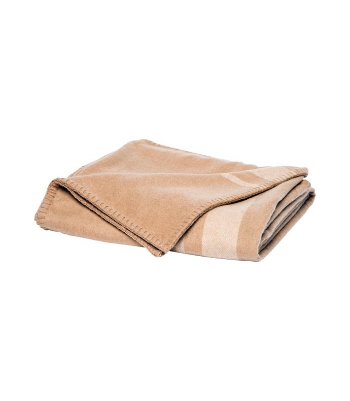 Blanket-Weight Cashmere Throw