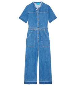 blue 'uta' jumpsuit