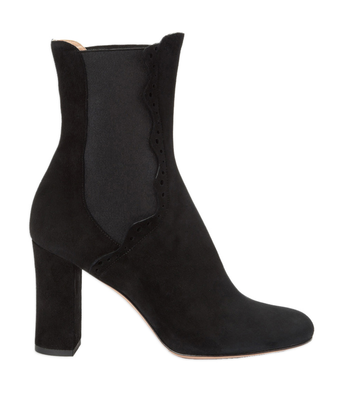 black 'noor' chelsea boot
