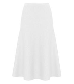 ivory 'freddie milano' stitch skirt