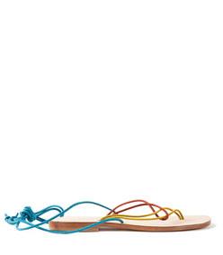 multicolor 'favignana' sandal