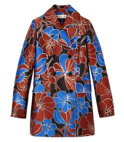 ShopBazaar Marni Blossom Jacquard Coat MAIN