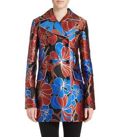 ShopBazaar Marni Blossom Jacquard Coat FRONT