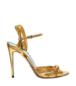 metallic gold 'allies' sandal
