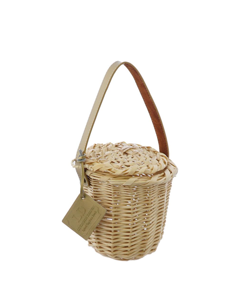 LINDROTH DESIGN Gold Mini Birkin Basket