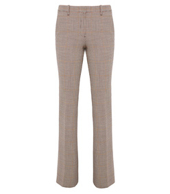 multi check demitria pant
