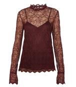 dark currant lace top