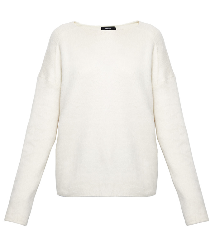 warm ivory cozy pullover