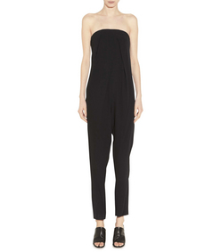 ShopBazaar A.L.C. Franca Pleated Jumpsuit FRONT
