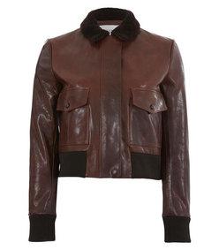 ShopBazaar Valentino Aviator Bomber Jacket MAIN