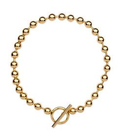 ShopBazaar Jennifer Fisher Gold Orb Chain Necklace MAIN
