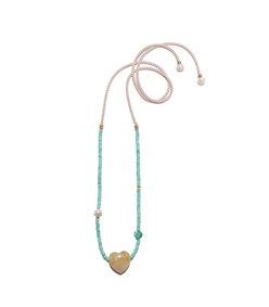 multicolor dawn gemini necklace