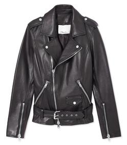 black motorcycle jacket