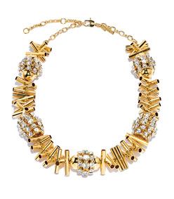 gold cicada necklace