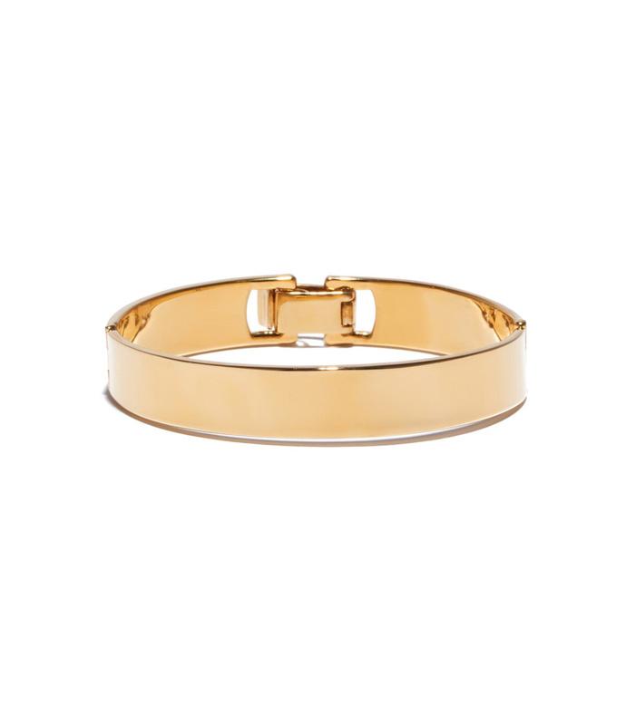 gold 'keepsake' bracelet