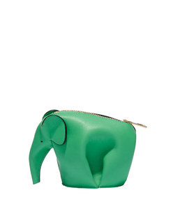 ShopBazaar Loewe Green Elephant Coin Purse MAIN