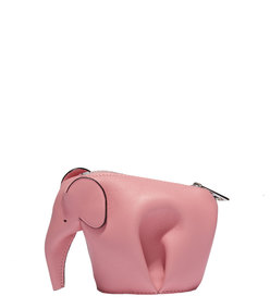 ShopBazaar Loewe Pink Elephant Coin Purse MAIN