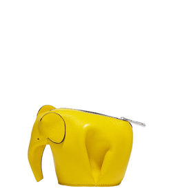 ShopBazaar Loewe Yellow Elephant Coin Purse MAIN