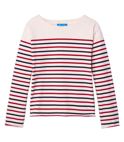 striped 'simple mariniere' shirt