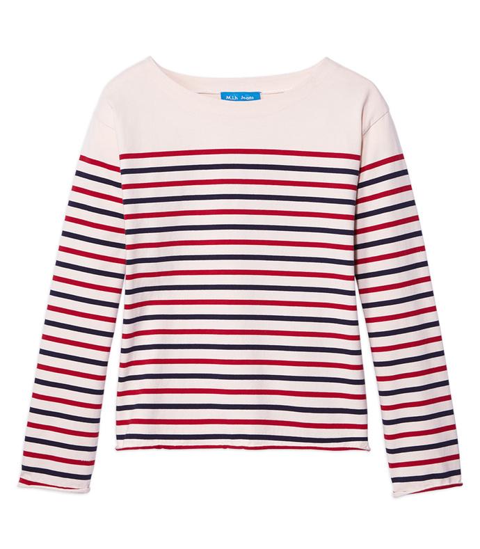 striped 'simple mariniere' shirt