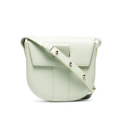 green miles leather crossbody bag