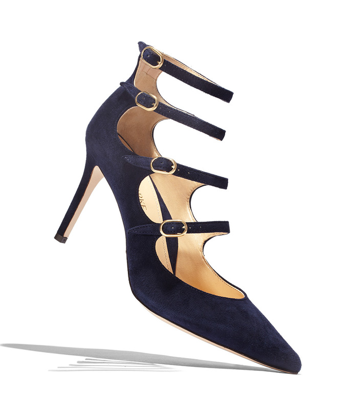 navy 'mitchell' suede pump