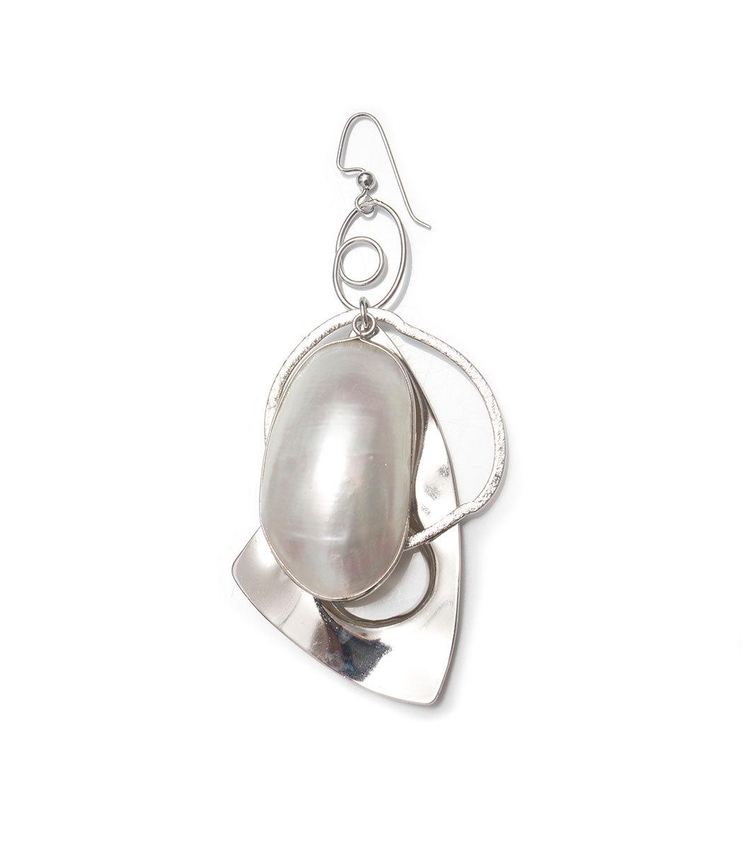 MOUNSER JEWELRY Silver Sea Forms Single Earring