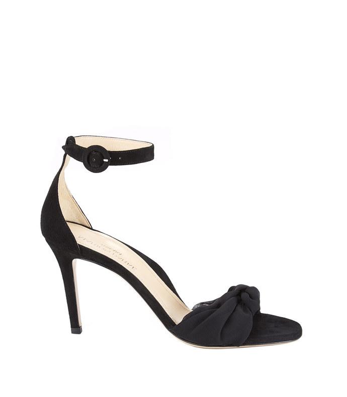 black 'lane' sandal