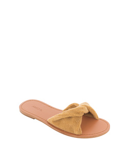 ShopBazaar Maslin & Co. Terry Cloth Slide Sandal FRONT