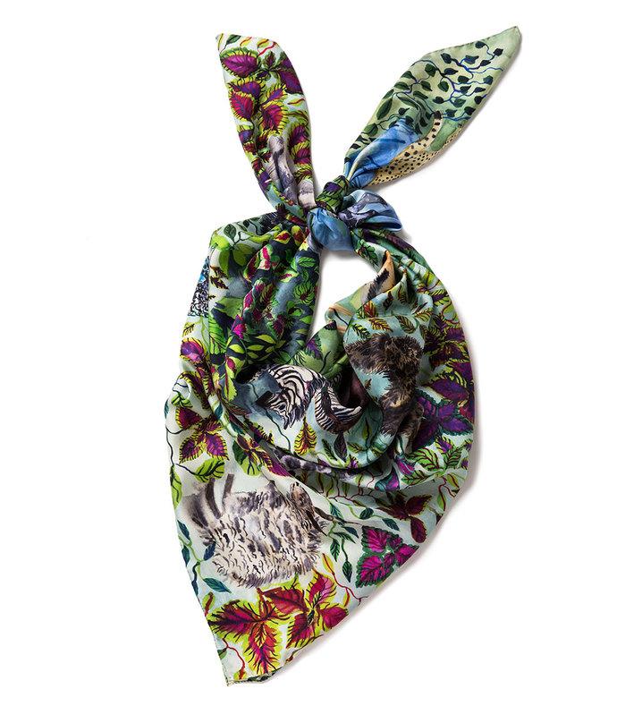 animal kingdom lg scarf
