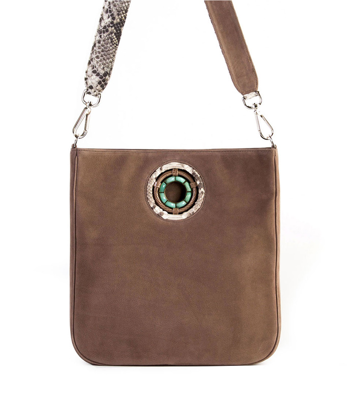 cloe cross body tote