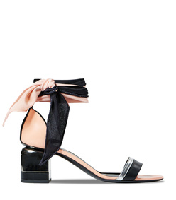 black multi sweet menphis sandal