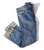 silver embellished jean