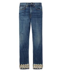 embellished denim jean