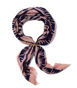 blush graphic arrows scarf